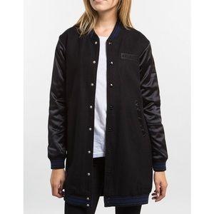 Stussy longline bomber jacket